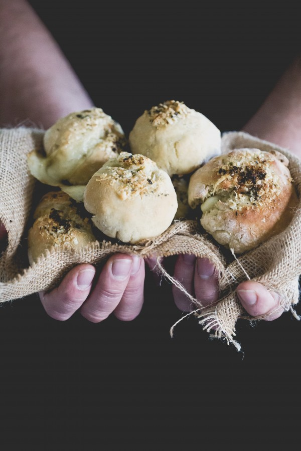 gluten free stuffed cheese buns | Eat Good 4 Life