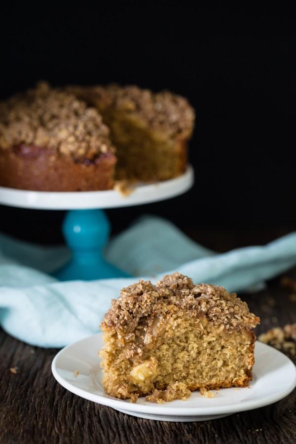 Gluten free apple coffee cake   Eat Good 4 Life
