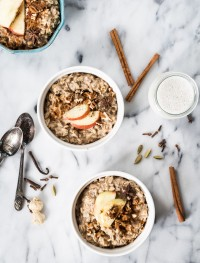 Pecan chai oatmeal | Eat Good 4 Life