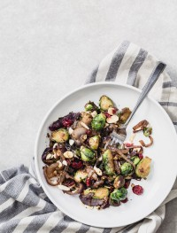 Brussels sprouts with caramelized onions | Eat Good 4 Life