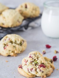 Gluten free pistachio cranberry cookies | Eat Good 4 Life