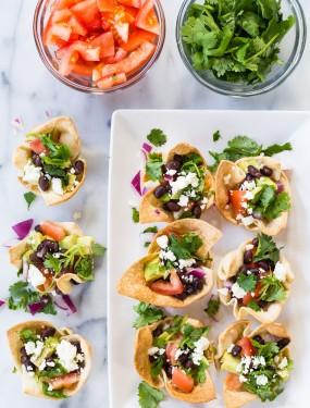 tortilla burrito cups   Eat Good 4 Life