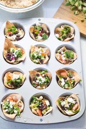 tortilla burrito cups | Eat Good 4 Life