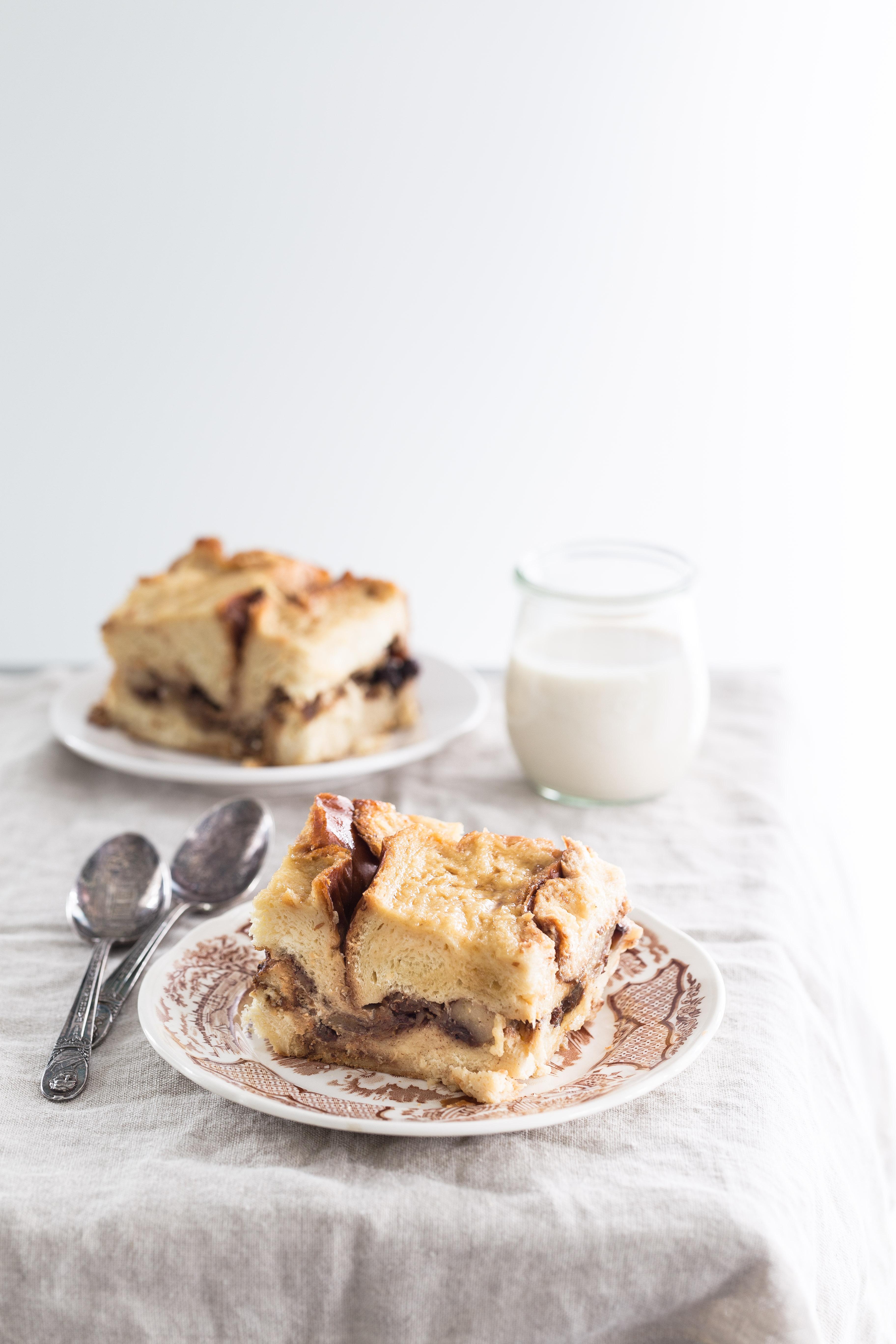 Apple bourbon bread pudding   Eat Good 4 Life