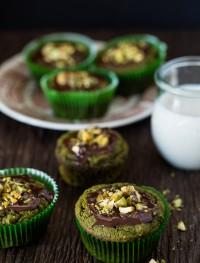 Gluten free matcha muffins | Eat Good 4 Life