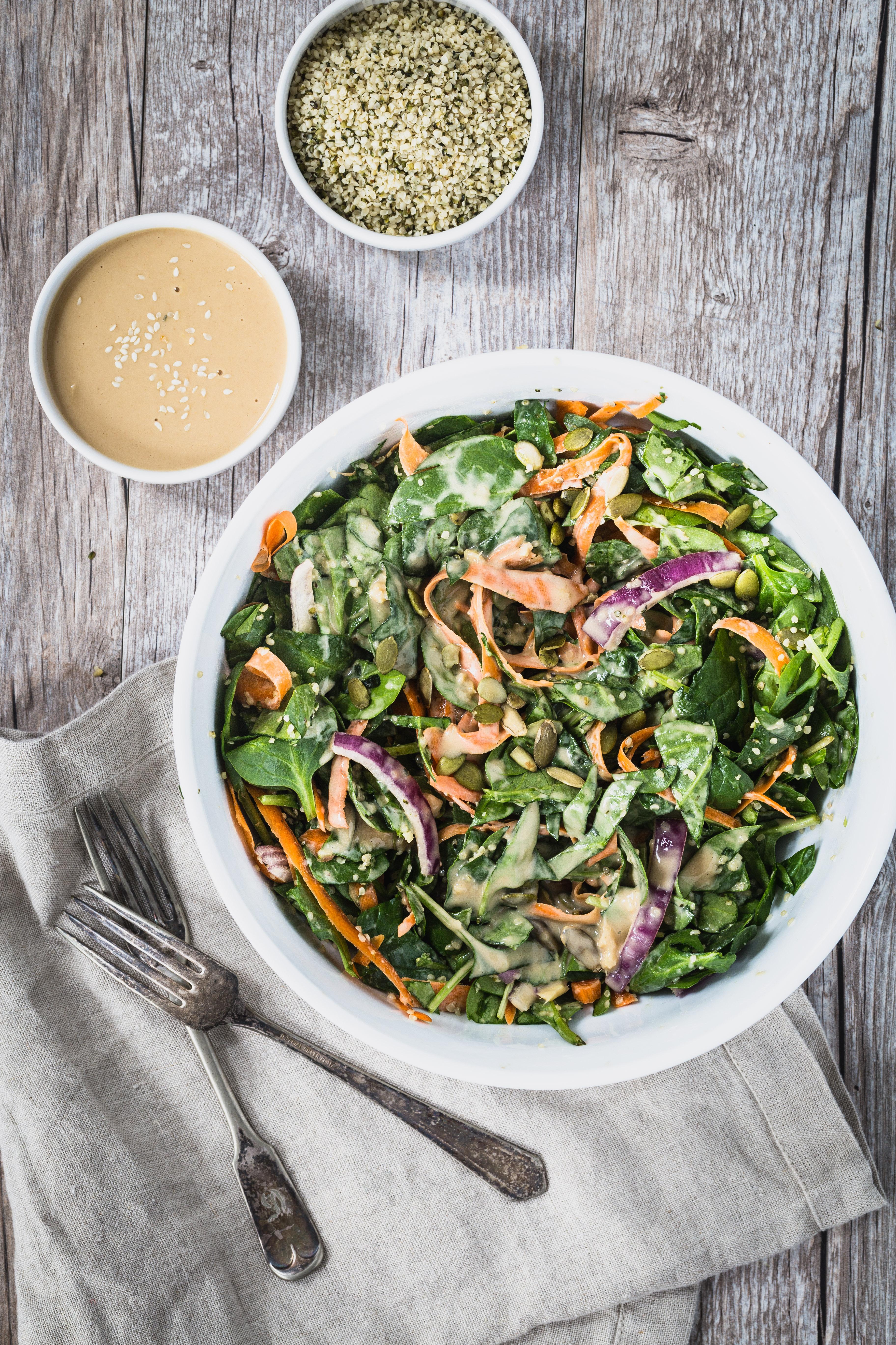 Spinach Salad Dressing