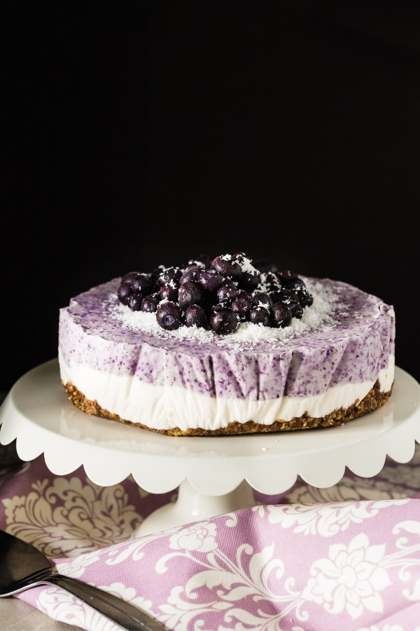 Vegan blueberry coconut cake | Eat Good 4 life