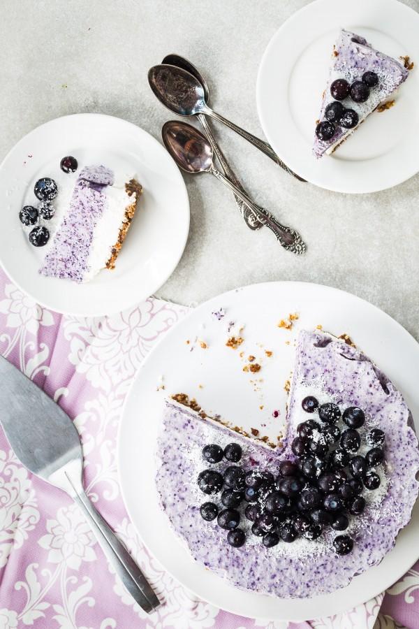 Vegan blueberry coconut cake | Eat Good 4 life