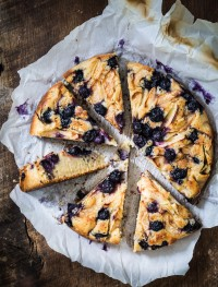 Blueberry apple ricotta cake | Eat Good 4 Life