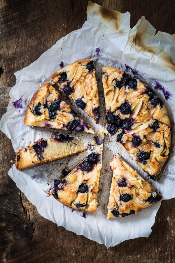 Blueberry apple ricotta cake   Eat Good 4 Life