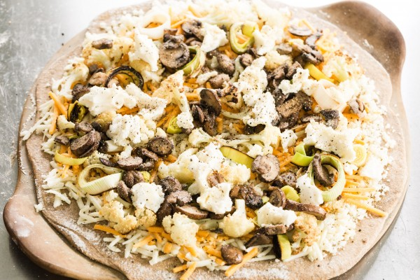 Whole wheat vegetable pizza | Eat Good 4 Life