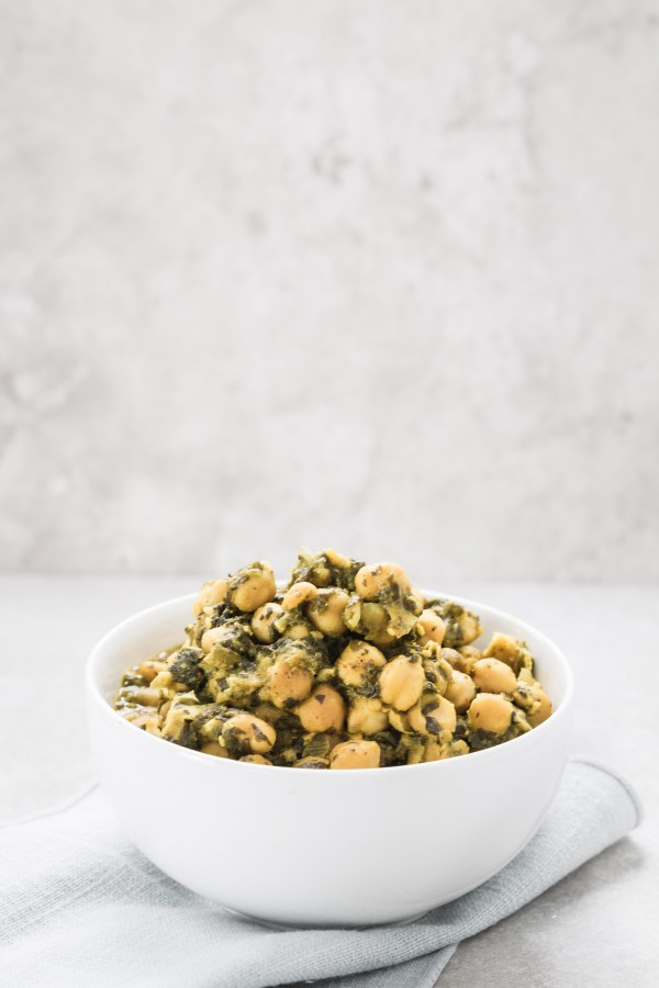 Chickpea curry with spinach | Eat Good 4 Life
