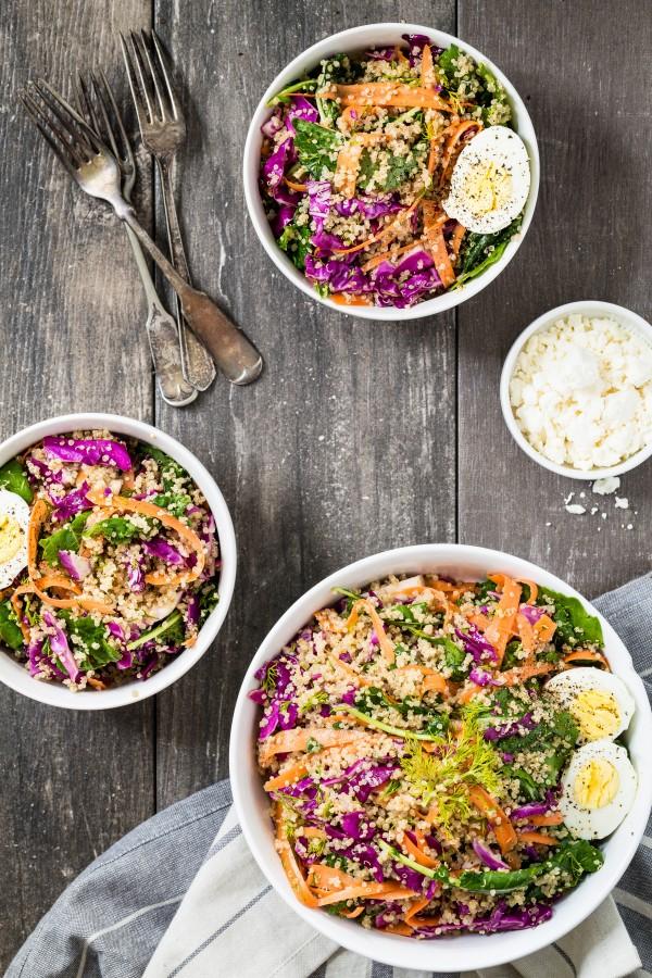 Quinoa veggie salad | Eat Good 4 Life