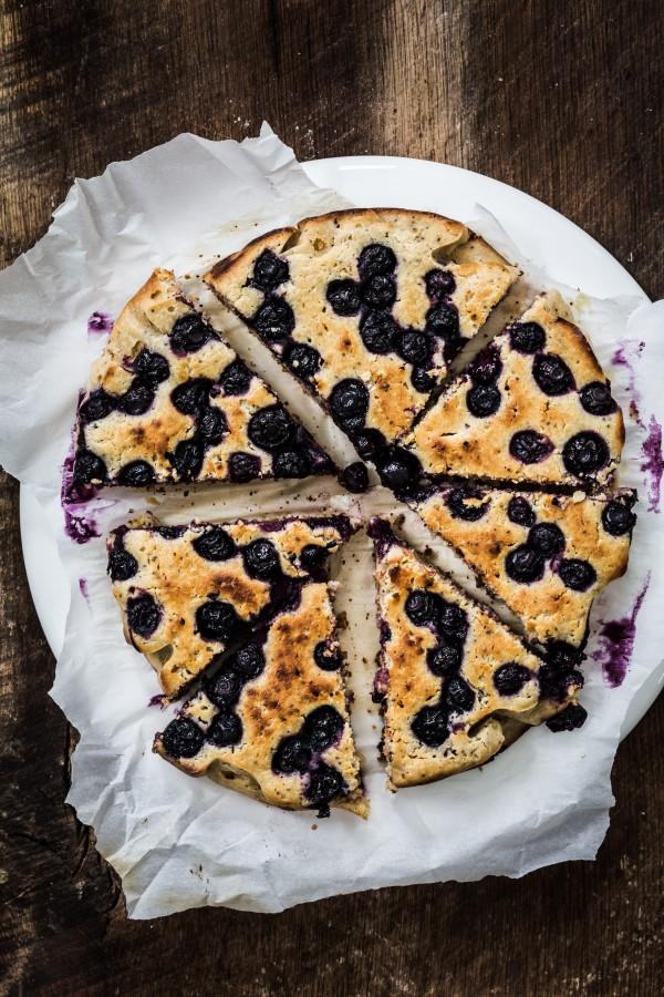 Lemon Blueberry Ricotta Cake Eat Good 4 Life
