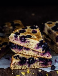 Lemon Blueberry Ricotta Cake | Eat Good 4 Life