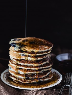 Gluten free quinoa blueberry pancakes | Eat Good 4 Life