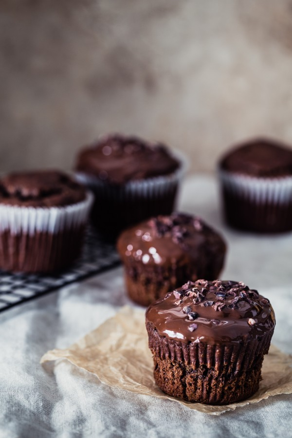Banana bread chocolate jumbo muffins | Eat Good 4 Life