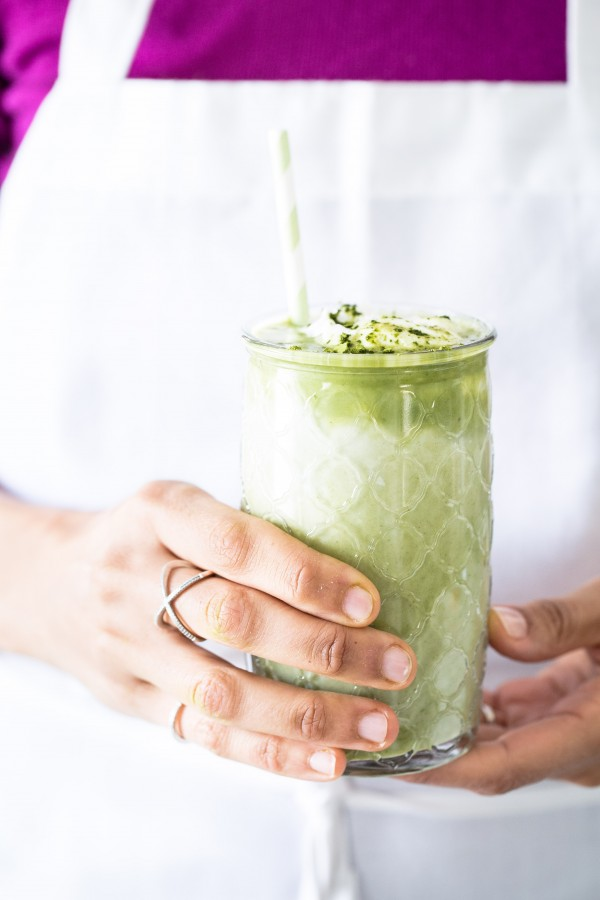 Vegan green tea latte | Eat Good 4 Life