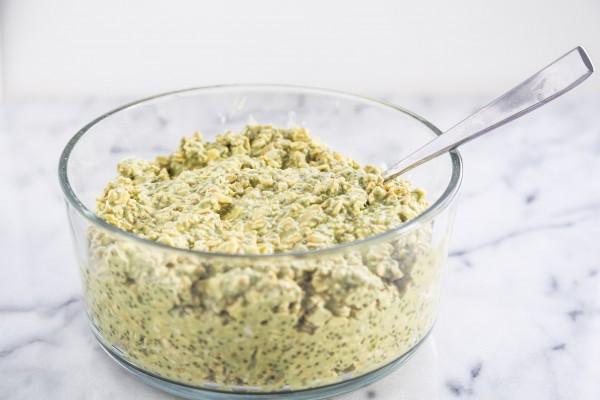 Green tea overnight oats   Eat Good 4 Life