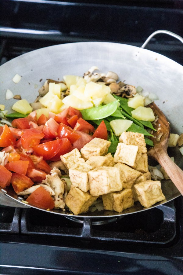 Sweet and sour tofu with vegetables   Eat Good 4 Life