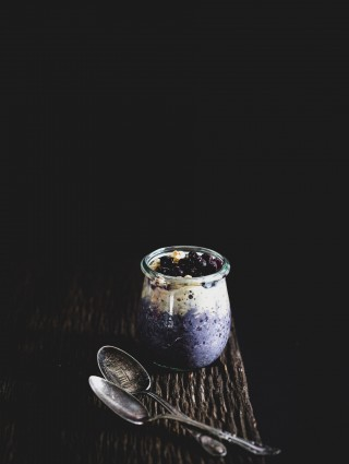 Blueberry coconut overnight oats | Eat Good 4 Life