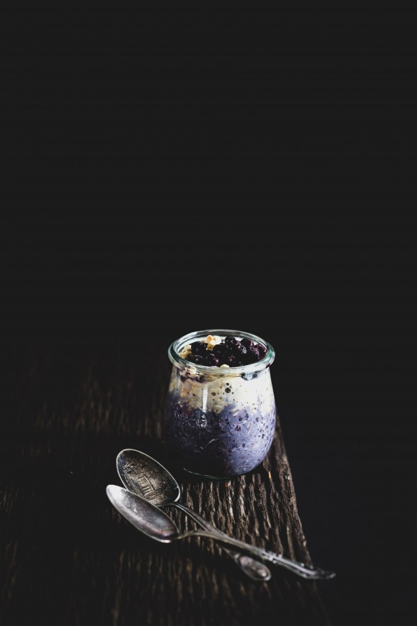 Blueberry coconut overnight oats   Eat Good 4 Life