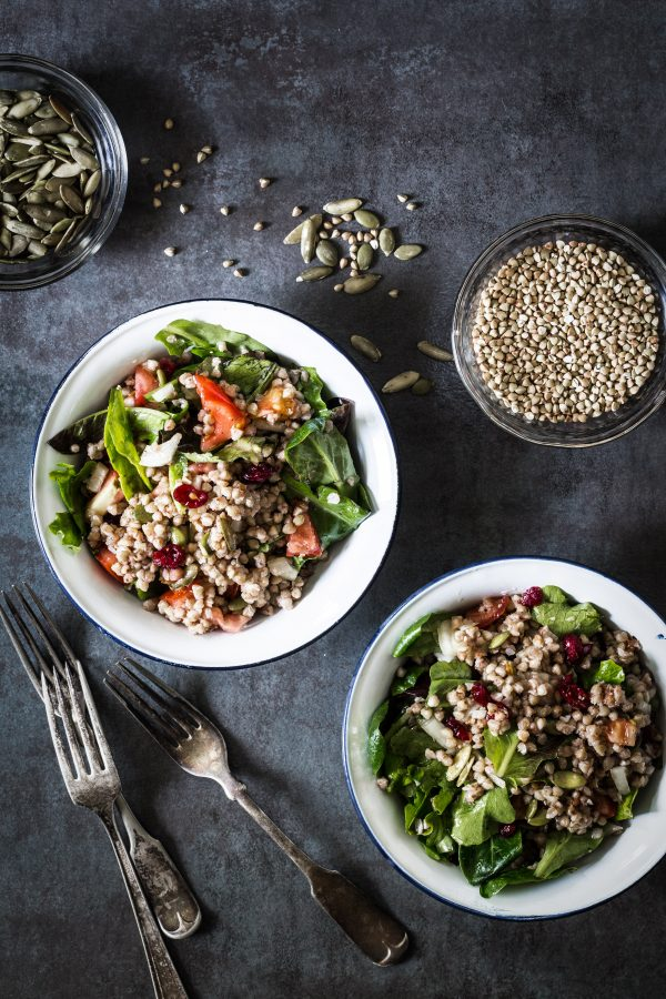 buckwheat veggie salad | Eat Good 4 Life