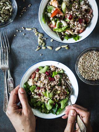 buckwheat veggie salad | Eat Good 4 Life