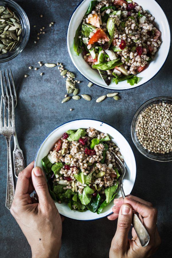 buckwheat veggie salad   Eat Good 4 Life