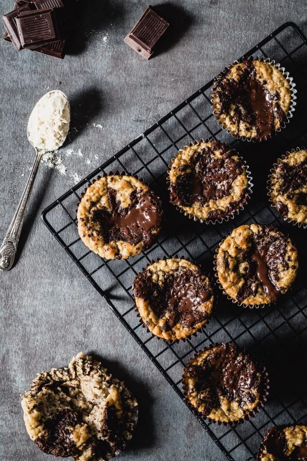 Gluten free banana chocolate muffins   Eat Good 4 Life