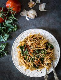 Sun dried tomato kale pasta | Eat Good 4 Life