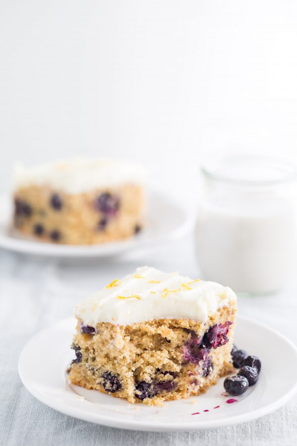 Blueberry lemon cake | Eat Good 4 Life
