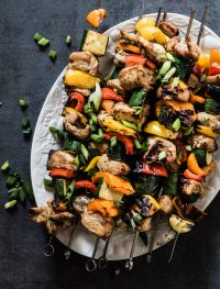 Grilled chicken kabobs | Eat Good 4 Life