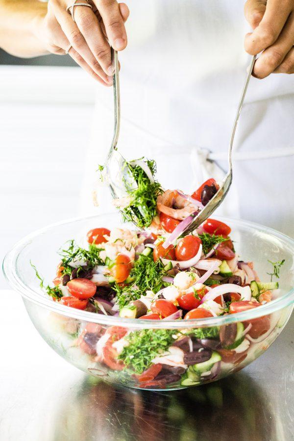 Shrimp Mediterranean salad   Eat Good 4 Life