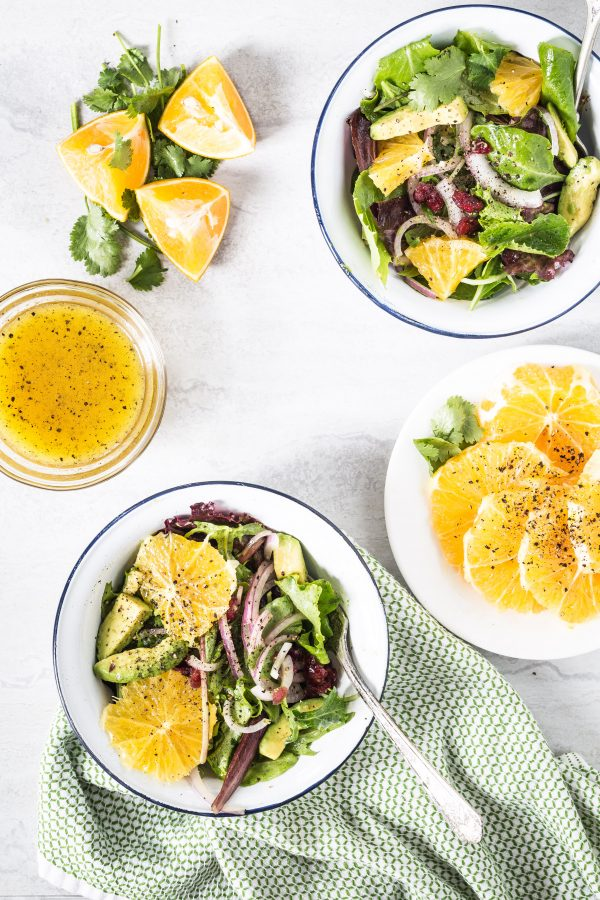 Avocado orange salad with orange honey vinaigrette | Eat Good 4 Life