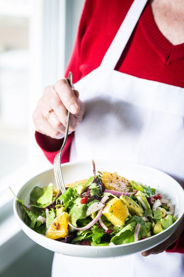 Avocado orange salad with orange honey vinaigrette | Eat Good 4 Life