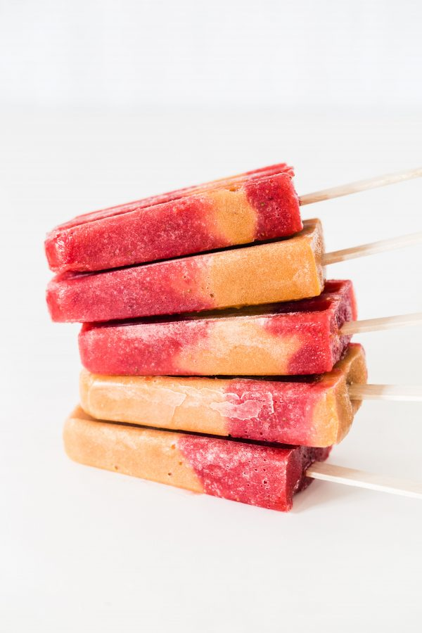 Strawberry apricot popsicles | Eat Good 4 Life