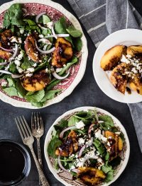 Grilled peach salad | Eat Good 4 Life