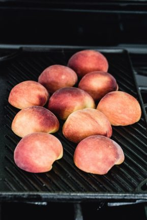Grilled peach salad | Eat Good 4 Life