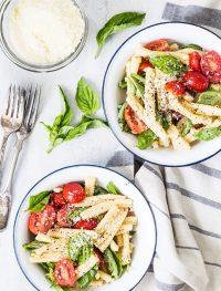 Gemelli vegetarian pasta salad | Eat Good 4 Life