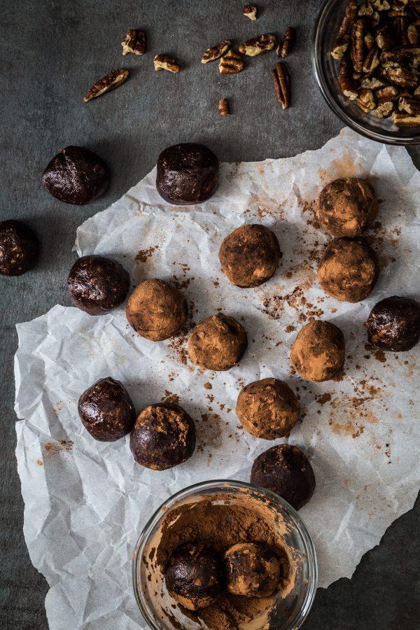 Chocolate protein bites   Eat Good 4 Life
