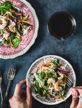 Spicy shrimp salad   Eat Good 4 Life