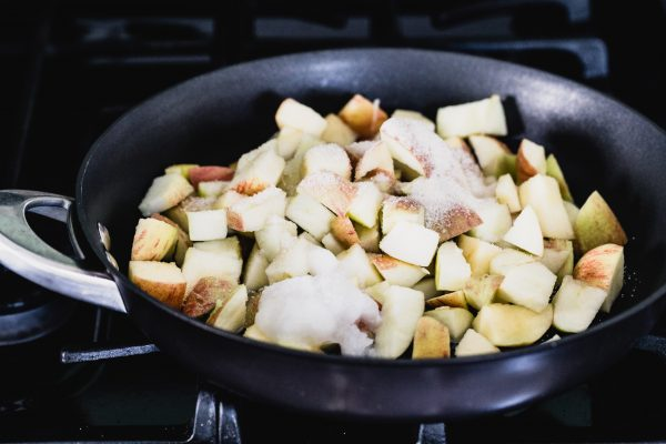 Caramelized apple oatmeal   Eat Good 4 Life