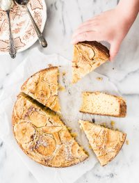 Gluten free rustic apple cake | Eat Good 4 Life