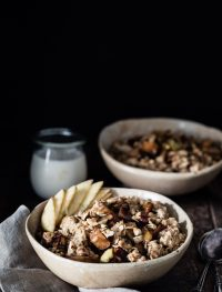 Caramelized apple oatmeal | Eat Good 4 Life