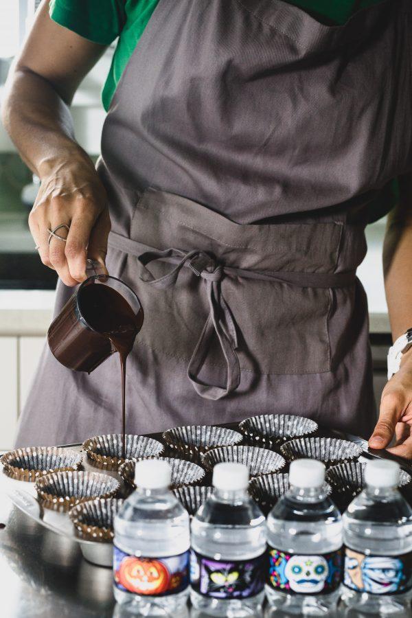 Dark chocolate almond butter cups   Eat Good 4 Life