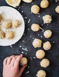 Lemon coconut bites | Eat Good 4 Life