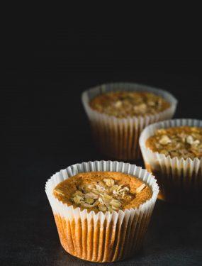Jumbo pumpkin muffins | Eat Good 4 Life