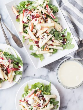 apple cranberry pecan salad | Eat Good 4 Life