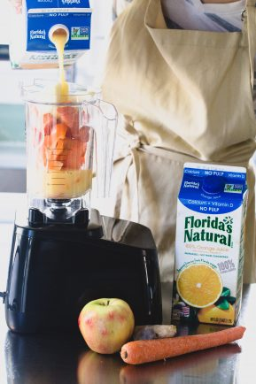 Immune boosting orange smoothie   Eat Good 4 Life